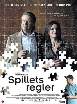 Spillets regler - Danish Movie Poster (thumbnail)