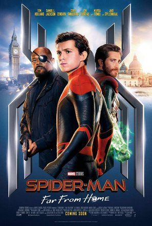Spider-Man: Far From Home - International Movie Poster (thumbnail)
