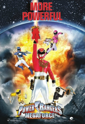 """Power Rangers Megaforce"" - Movie Poster (thumbnail)"