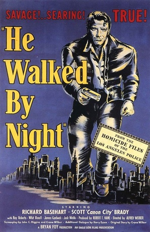 He Walked by Night - Movie Poster (thumbnail)