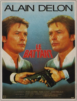 Le battant - French Movie Poster (thumbnail)