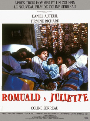 Romuald et Juliette - French Movie Poster (thumbnail)