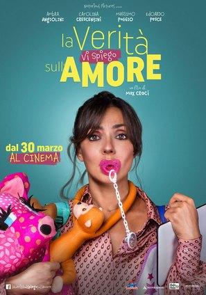 La verità, vi spiego, sull'amore - Italian Movie Poster (thumbnail)