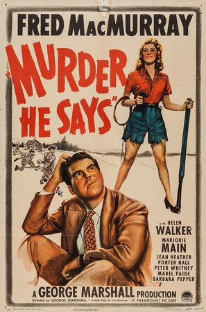 Murder, He Says - Movie Poster (thumbnail)