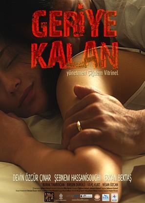 Geriye Kalan - Turkish Movie Poster (thumbnail)