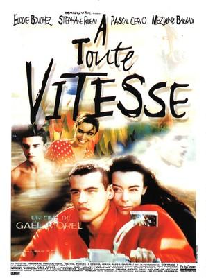 À toute vitesse - French Movie Poster (thumbnail)