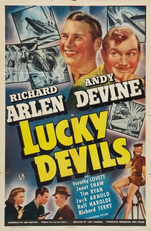 Lucky Devils - Movie Poster (thumbnail)