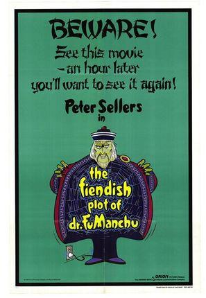 The Fiendish Plot of Dr. Fu Manchu - Movie Poster (thumbnail)