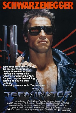 The Terminator - Movie Poster (thumbnail)