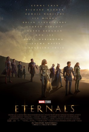 The Eternals - Movie Poster (thumbnail)