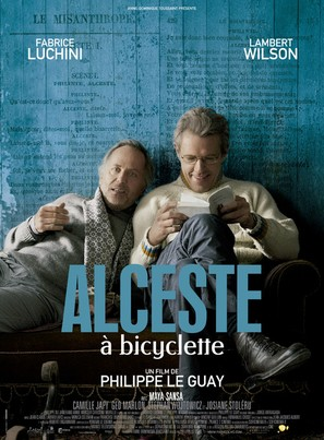 Alceste à bicyclette - French Movie Poster (thumbnail)