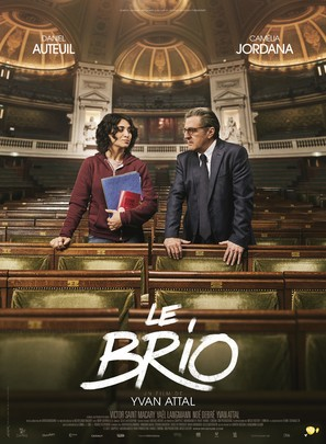 Le brio - French Movie Poster (thumbnail)