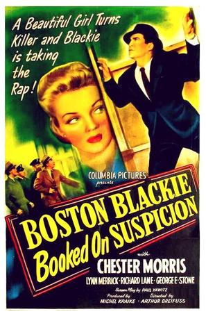 Boston Blackie Booked on Suspicion - Movie Poster (thumbnail)