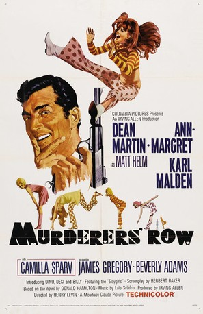 Murderers' Row - Movie Poster (thumbnail)
