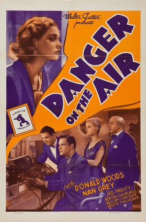 Danger on the Air - Re-release movie poster (thumbnail)