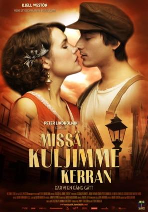 Där vi en gång gått - Finnish Movie Poster (thumbnail)