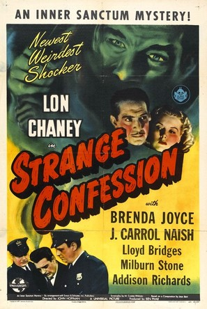 Strange Confession - Movie Poster (thumbnail)