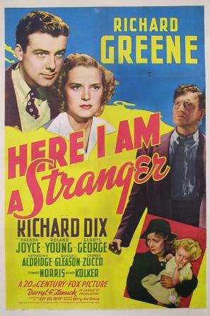 Here I Am a Stranger - Movie Poster (thumbnail)