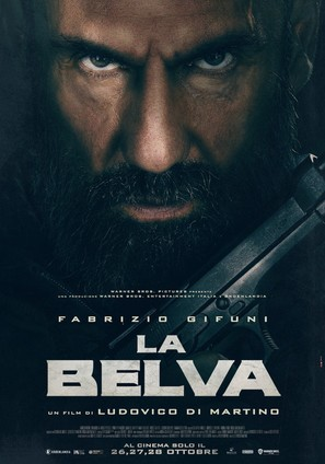 La belva (2020) movie posters