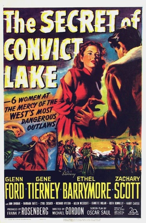 The Secret of Convict Lake - Movie Poster (thumbnail)