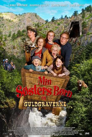Min søsters børn og guldgraverne - Danish Movie Poster (thumbnail)