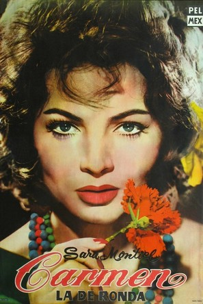 Carmen la de Ronda - Argentinian Movie Poster (thumbnail)