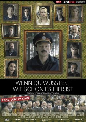 Wenn du wüsstest, wie schön es hier ist - Austrian Movie Poster (thumbnail)