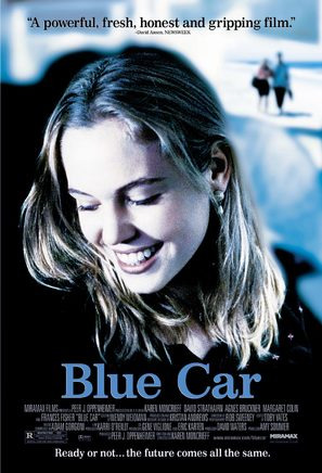 Blue Car - Movie Poster (thumbnail)