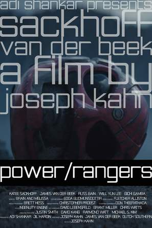 Power/Rangers - Movie Poster (thumbnail)