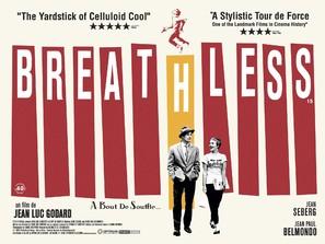 À bout de souffle - British Movie Poster (thumbnail)