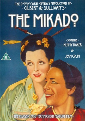 The Mikado - British Movie Cover (thumbnail)