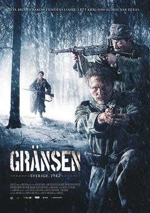 Gränsen - Swedish Movie Poster (thumbnail)