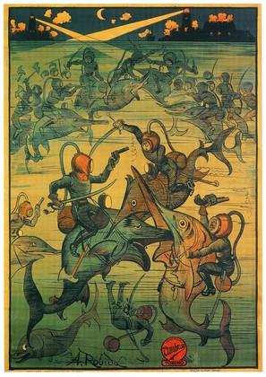 Avventure straordinarissime di Saturnino Farandola, Le - Italian Movie Poster (thumbnail)