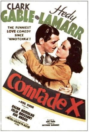 Comrade X - Movie Poster (thumbnail)