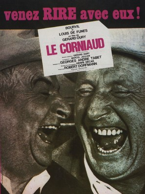 Corniaud, Le - French Movie Poster (thumbnail)
