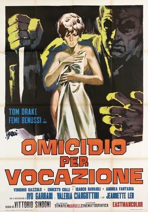 Omicidio per vocazione - Italian Movie Poster (thumbnail)