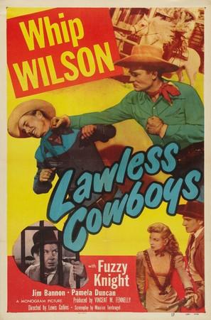 Lawless Cowboys - Movie Poster (thumbnail)