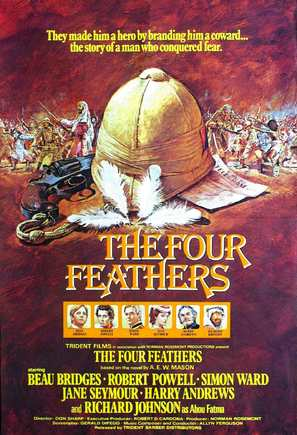 The Four Feathers - British Movie Poster (thumbnail)