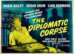 The Diplomatic Corpse - British Movie Poster (thumbnail)