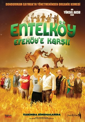 Entelköy Efeköy'e Karsi - Turkish Movie Poster (thumbnail)