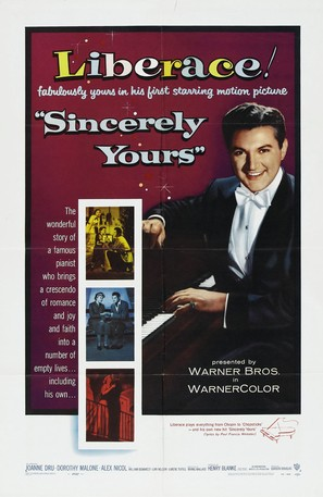 Sincerely Yours - Movie Poster (thumbnail)