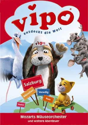 """Vipo: Adventures of the Flying Dog"" - German Movie Cover (thumbnail)"