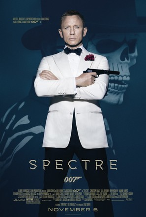 Spectre - Theatrical movie poster (thumbnail)
