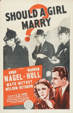 Should a Girl Marry? - Movie Poster (thumbnail)