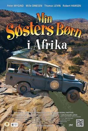 Min søsters børn i Afrika - Danish Movie Poster (thumbnail)