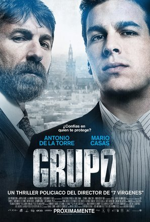 Grupo 7 - Spanish Movie Poster (thumbnail)