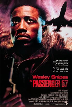 Passenger 57 - Movie Poster (thumbnail)