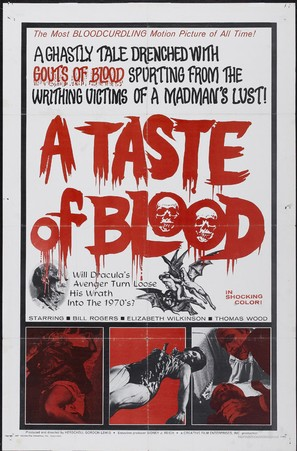 A Taste of Blood - Movie Poster (thumbnail)