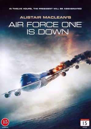 """Air Force One is Down"" - Danish DVD movie cover (thumbnail)"