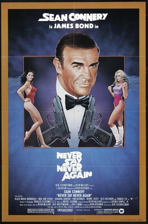 Never Say Never Again - Theatrical movie poster (thumbnail)